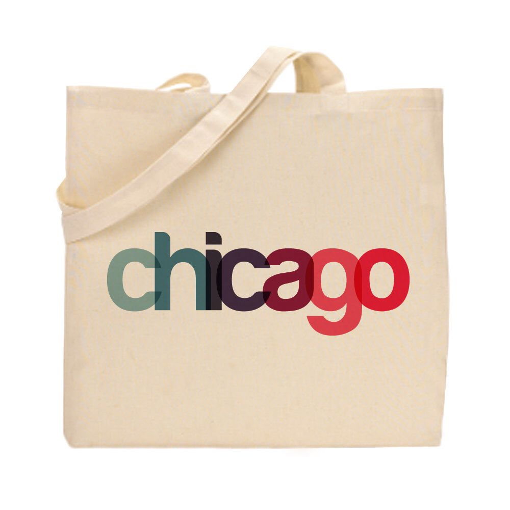 Chicago Tote Bag | Bridesmaid Gift | Chicago Gift | Wedding Favor ...