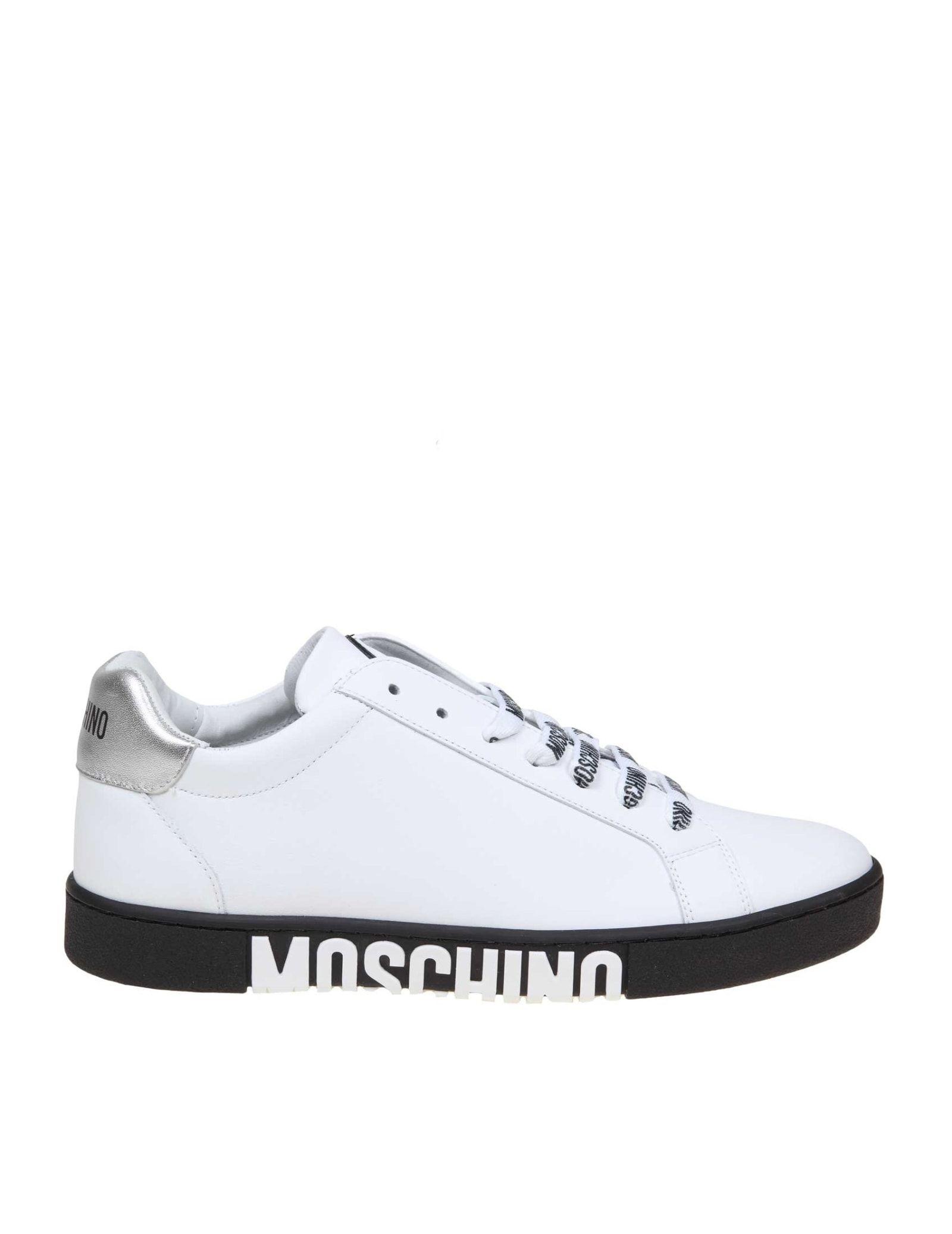 Moschino Moschino Sneakers In White