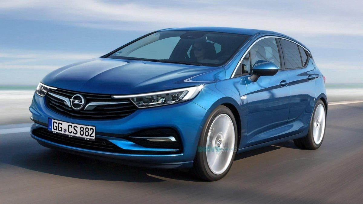 New Opel Astra 2019 Exterior Car Opel Car Review