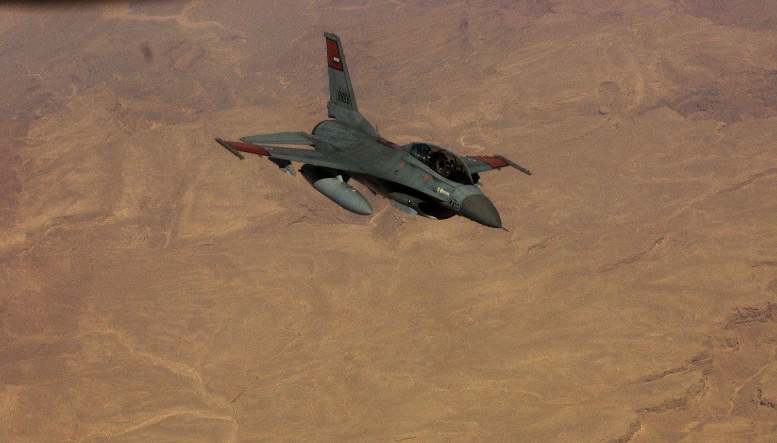 Egyptian Air Force General Dynamics F-16B Block 15 MLU (OCU) Fighting Falcon
