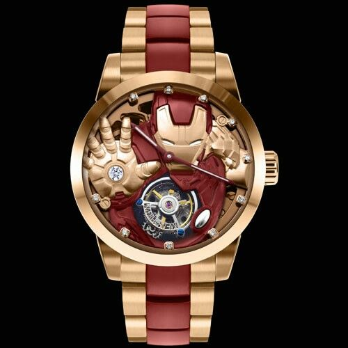 Memorigin avengers age of ultron ironman watch clammostyle pinterest iron man marvel and for Avengers watches