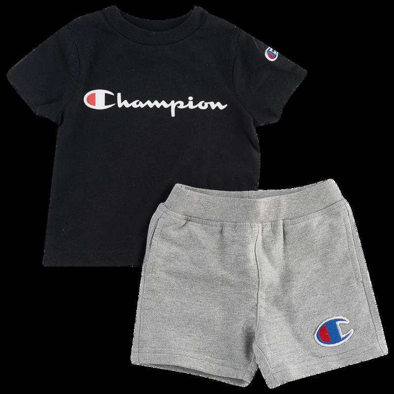 fcd5e00fc886 Champion Heritage 2-Piece Shorts Set - Boys  Infant