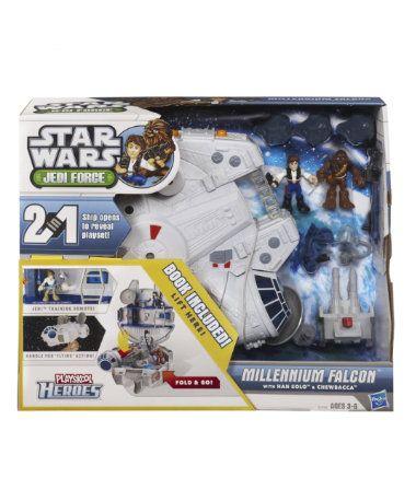 Star Wars Playskool Heroes Jedi Force Millennium Falcon