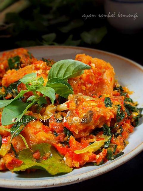 Cara Membuat Ayam Sambal Kemangi Resep Masakan Indonesia Kemangi Memasak