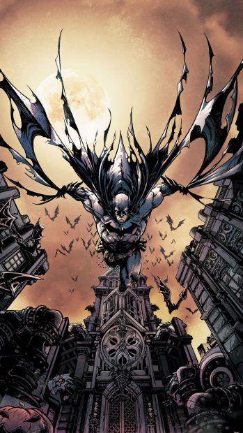 Download Free Dc Comics IPhone Wallpaper Death Batman Iphone 7