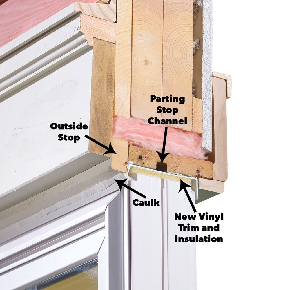 How to install vinyl replacement windows vinyl