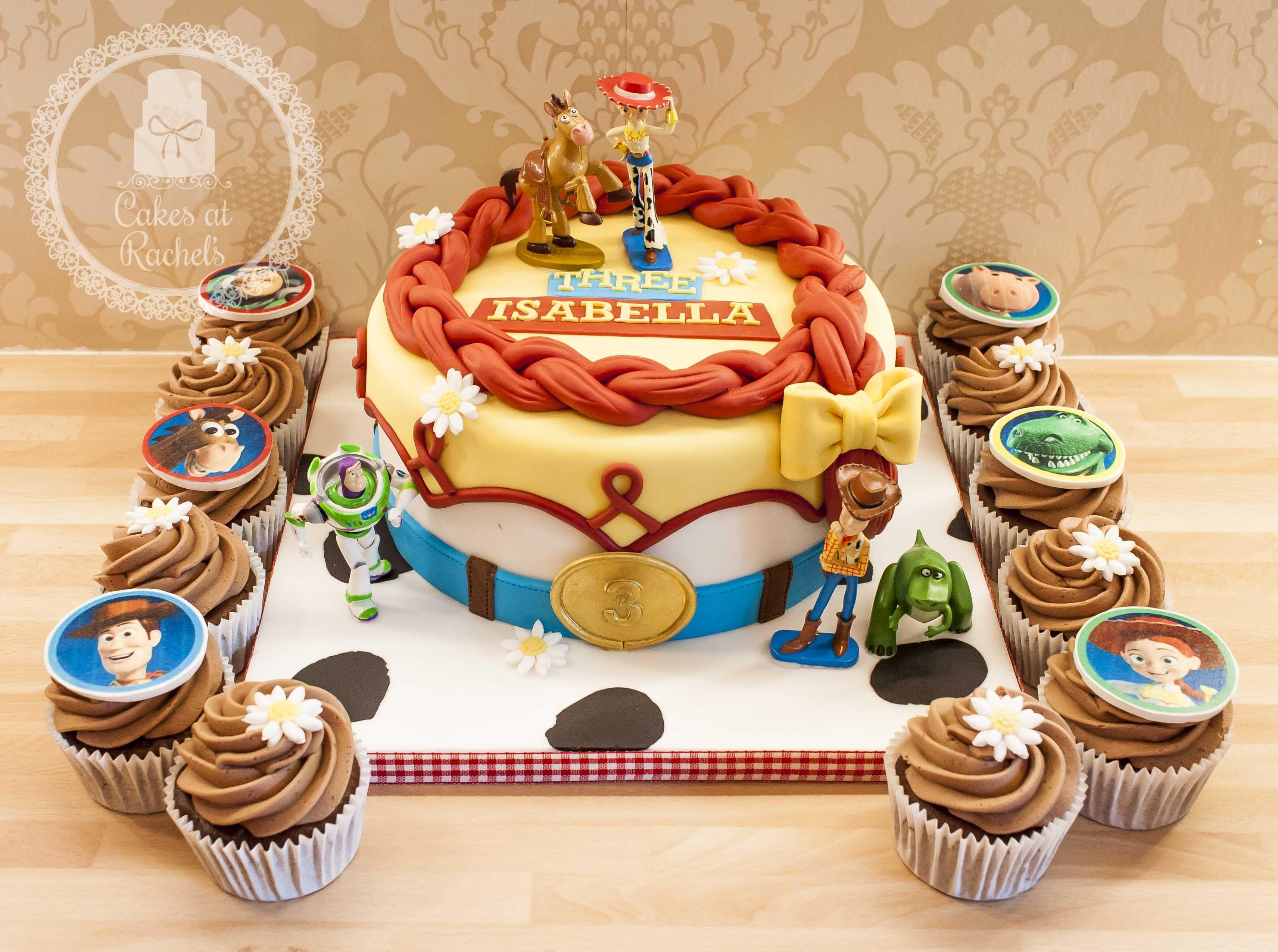 Toy Story Jessie Cake Cupcakes Blackpool Cakes At