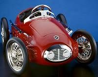 red racer pedal car this bright red pedal car will create hours of imaginary play for your child it was inspired by the famous ferrari racer and is one