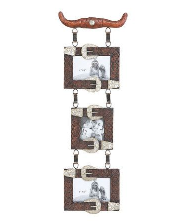 Take a look at this Longhorn Hanging Picture Frame by UMA Enterprises on #zulily today!