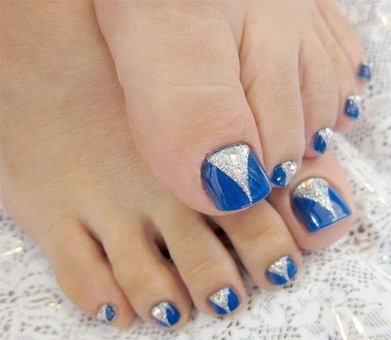 35 easy toe nail designs that are totally worth your time easy 35 easy toe nail designs that are totally worth your time prinsesfo Image collections