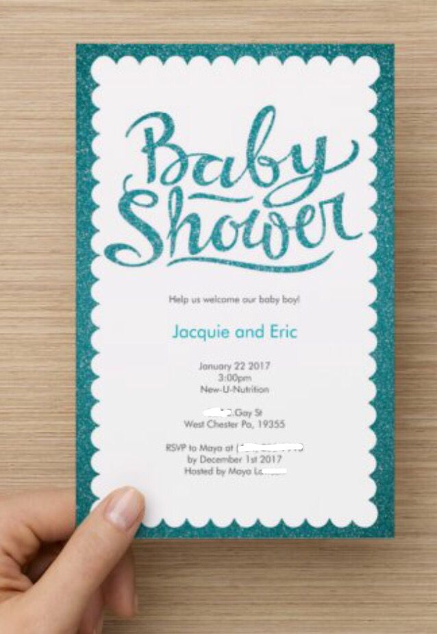 Baby Shower Invites That I Found On Vista Print Baby Shower