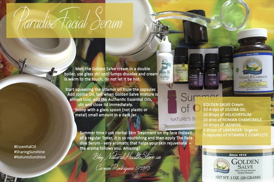naturessunshine oils essential