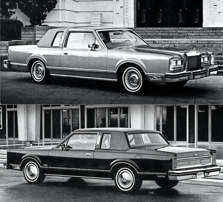 1980 Lincoln Town Coupe 1970s 1980s Lincolns Pinterest