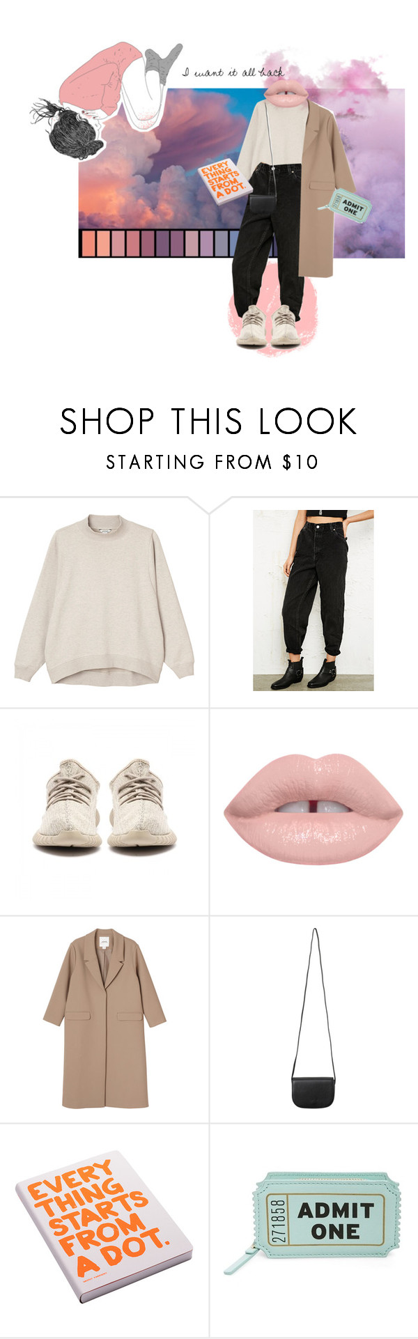 """I wish we could rewind time 2 months back"" by linnettebar ❤ liked on Polyvore featuring Monki, Urban Renewal, Nuuna and Kate Spade"