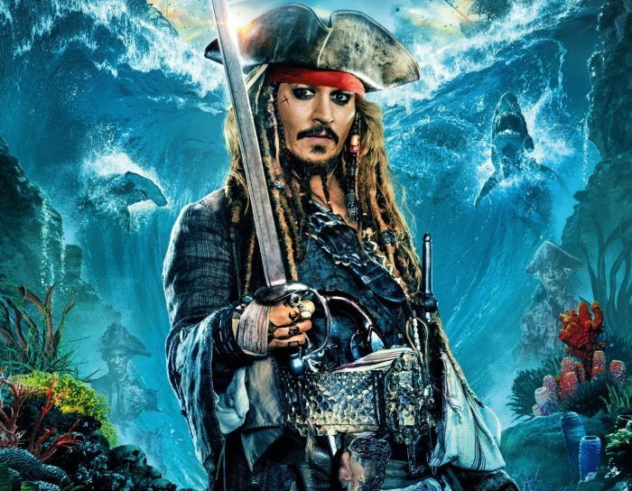 Jaw Sparrow Pirates Of The Caribbean Dead Men Tell No Tales