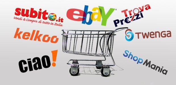 Cresce l'e-commerce e cresce il traffico sui comparatori di prezzo