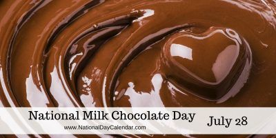 National Milk Chocolate Day July 28 With Images Chocolate Day Chocolate Chocolate Milk