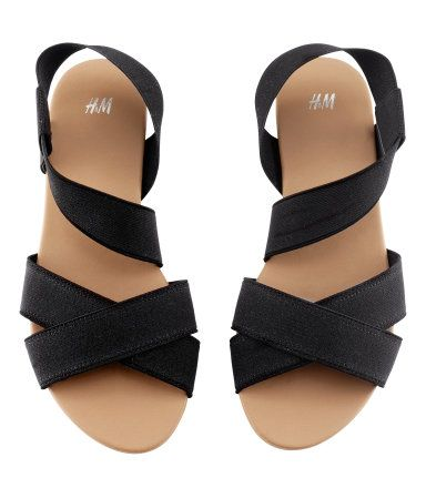 Elastic strap sandals - I used to have