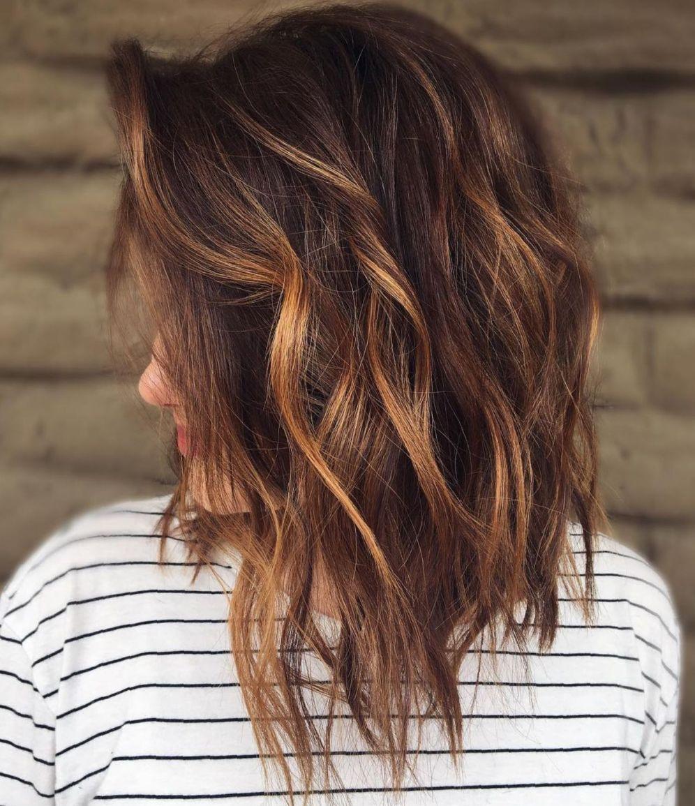 Haarfarbe Braun Gelb
