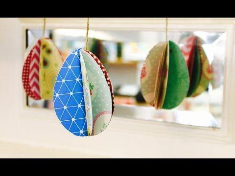 Creare con la carta ♥: Decorazioni e lavoretti di Pasqua fai da te