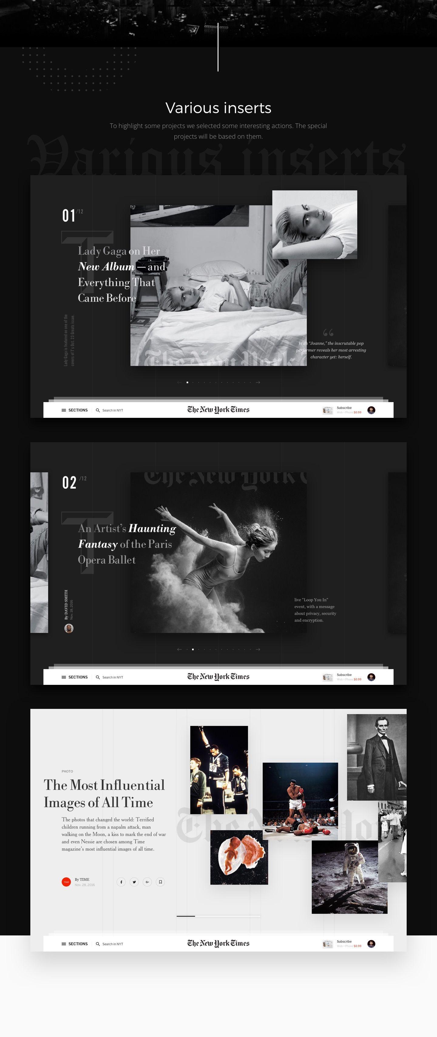 Editorial Design The New York Times Redesign Concept Web Design Websites Web Development Design Web Design Services
