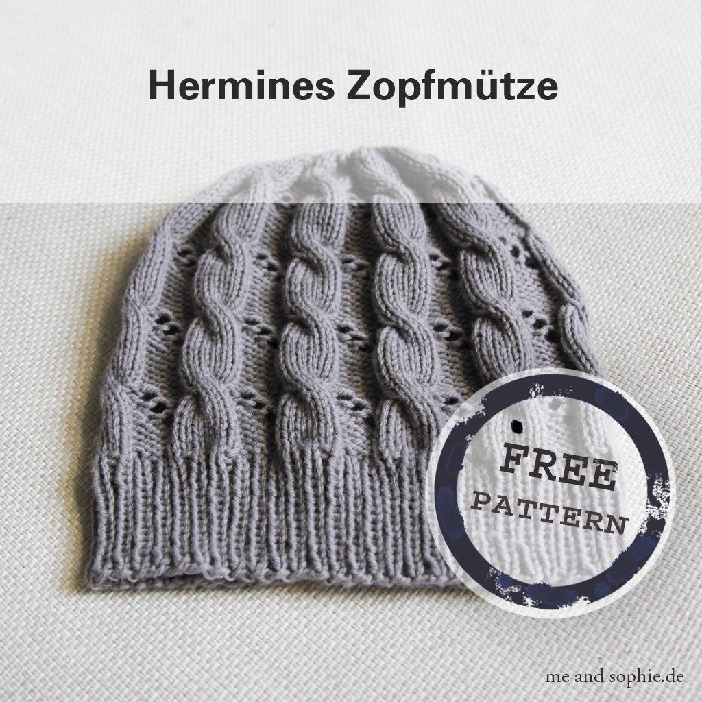 Photo of Hermines Zopfmütze – eine kostenlose Anleitung – | me and sophie