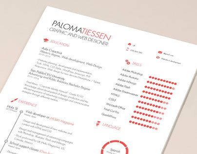 Consulter ce projet @Behance  « CV Resume Template FREE » https - free cv resume templates