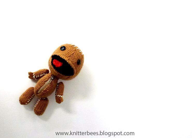 Knitterbees Little Big Planet Sackboy Amigurumis Pinterest