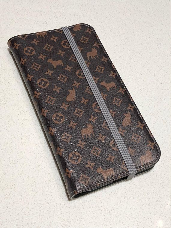 93996578eb LV inspired wallet cellphone cas, LV Folio Wallet, Frenchie iPhone ...