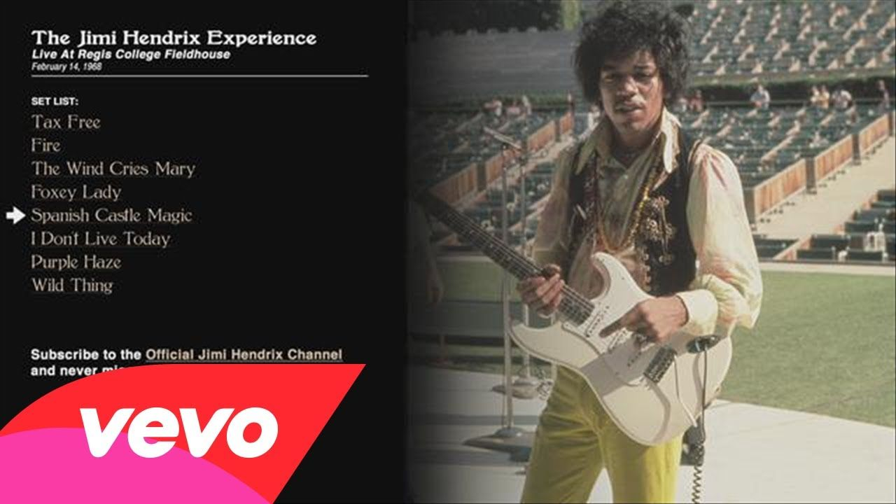 The Jimi Hendrix Experience - Spanish Castle Magic - Regis College 1968 ...