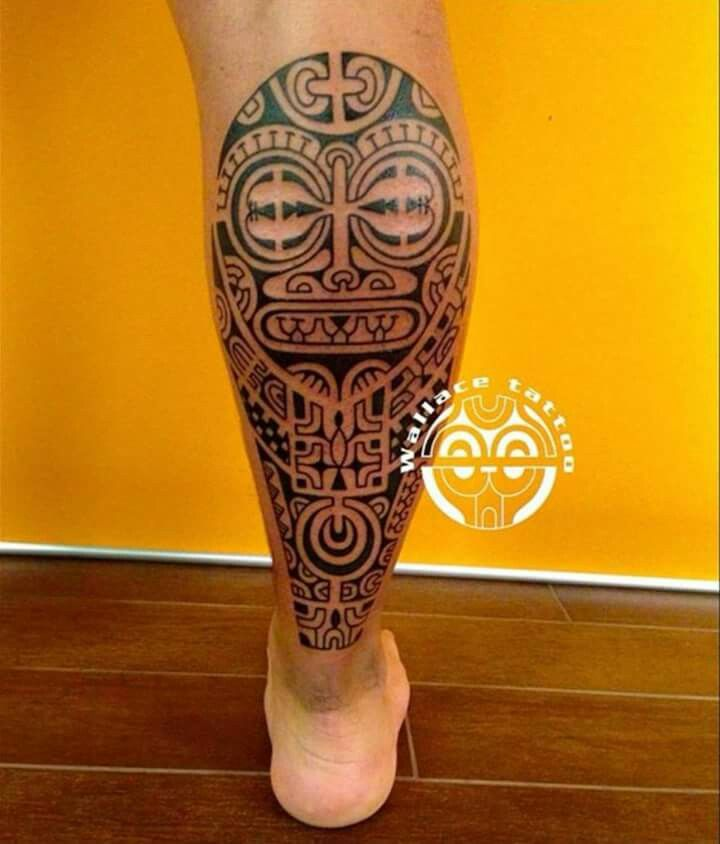 33+ Tatouage polynesien homme mollet inspirations