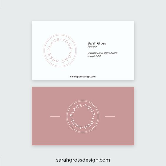 easily make your own business card download this free
