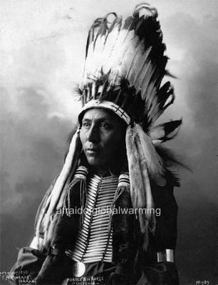 Details about Photo. 1890s. Hubble Big Horse – Native American Cheyenne Indian