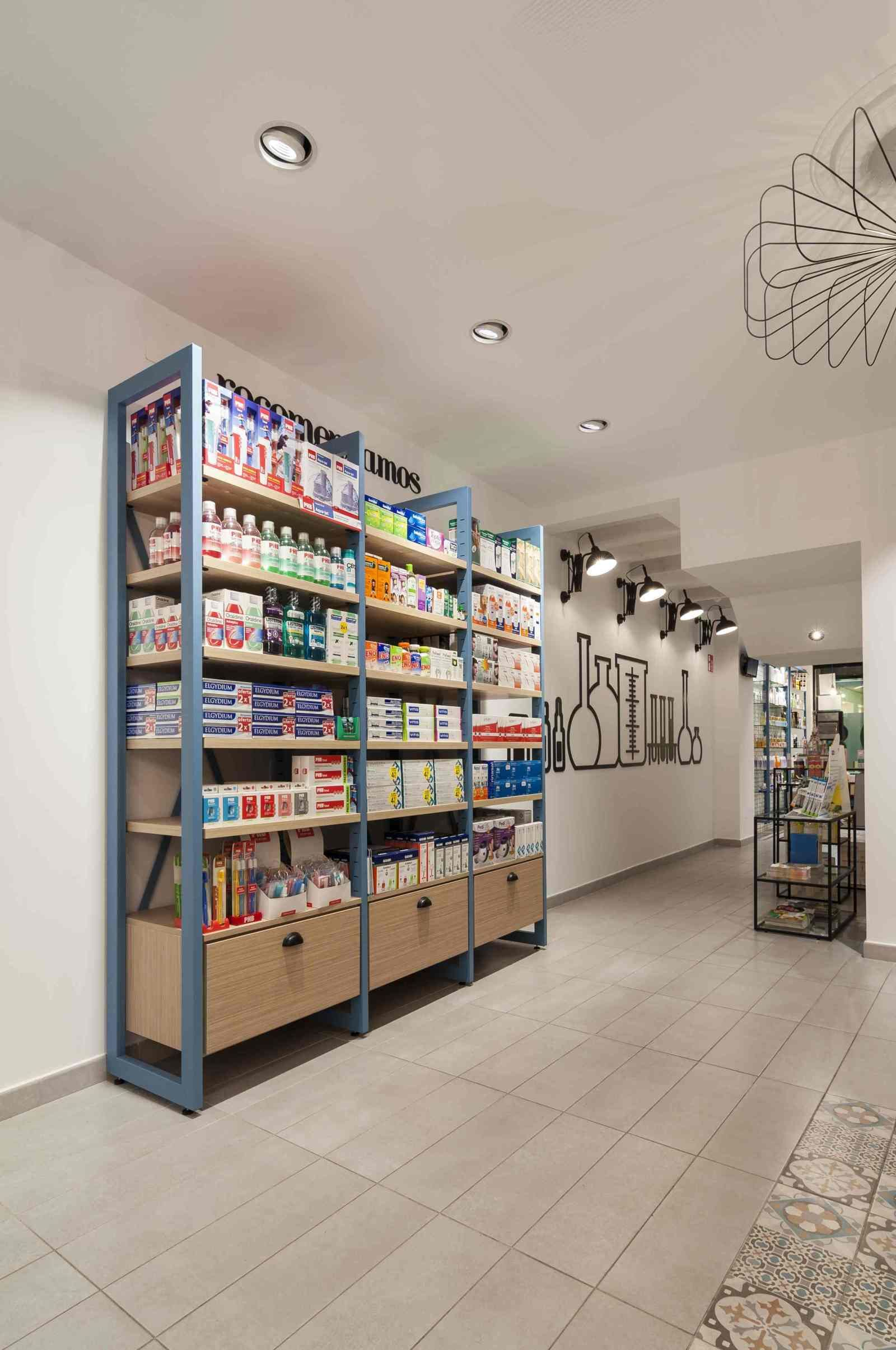 Dise o de farmacias modernas muebles para farmacia for Muebles de diseno