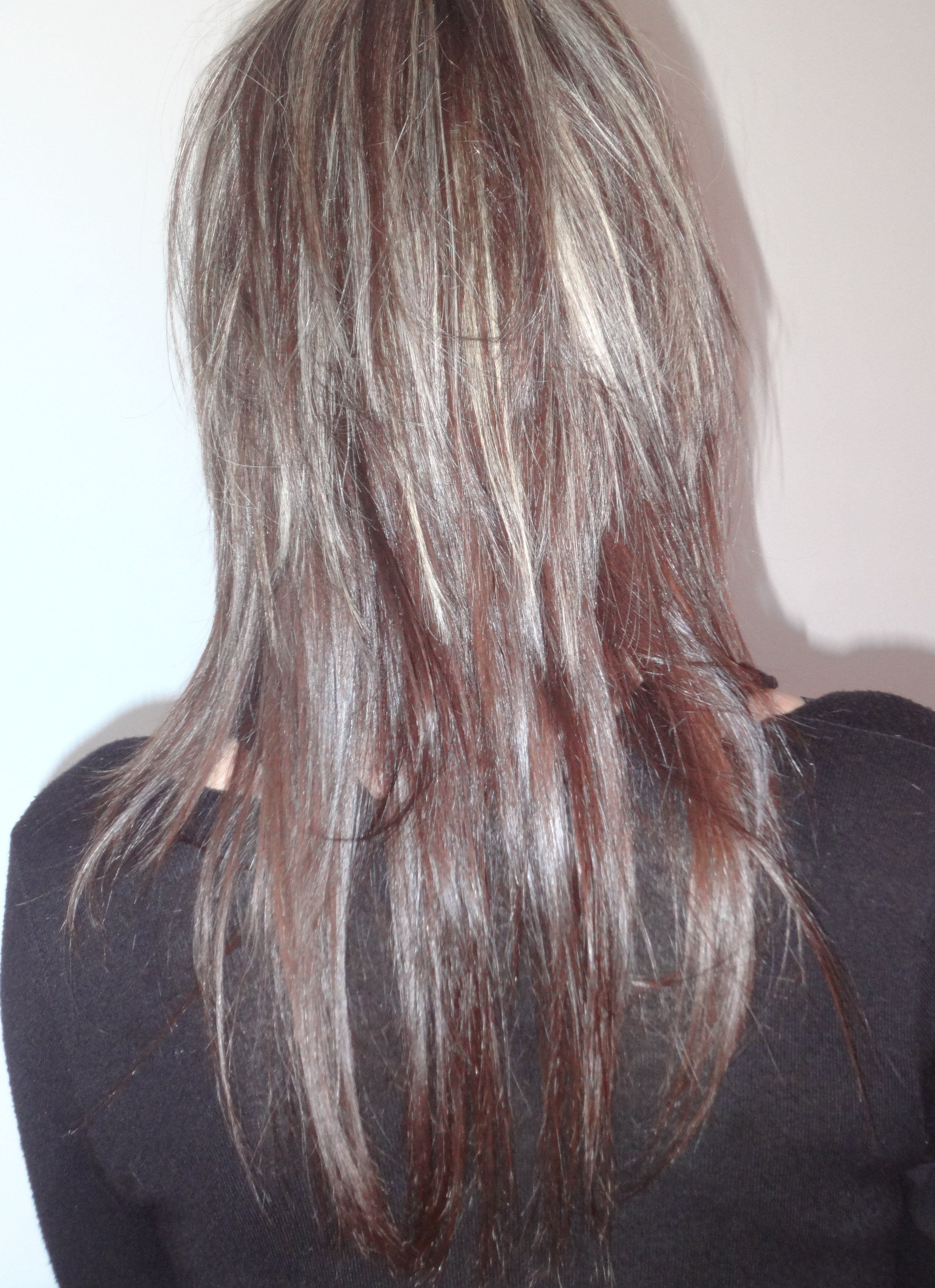 Coiffure Meche Blonde Et Chocolat Coiffure Cheveux Idee