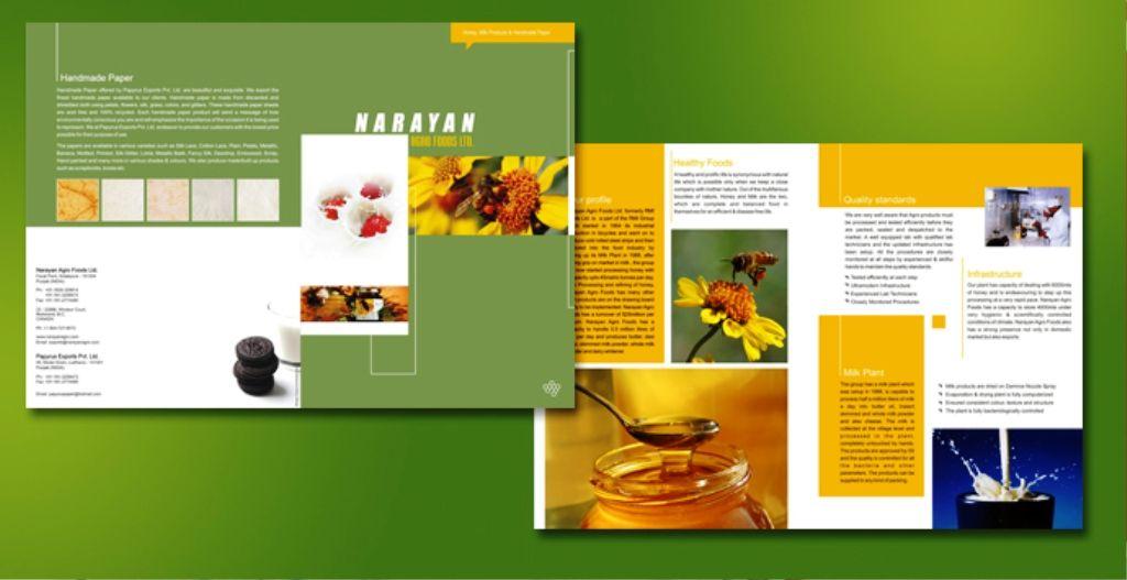 Kumpulan contoh company profile untuk jasa desain serta pesan - company profile format