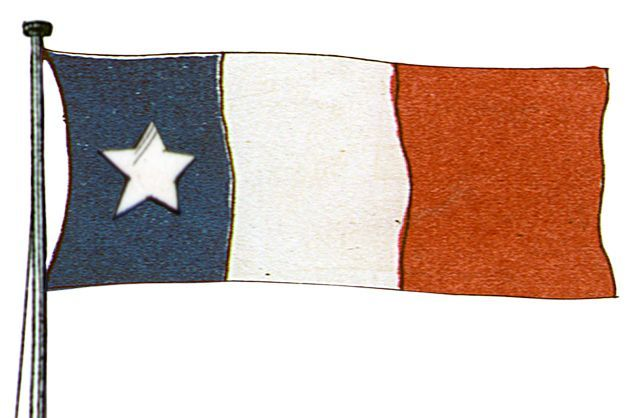 Flags Of The Era Flag Texas Revolution The Siege