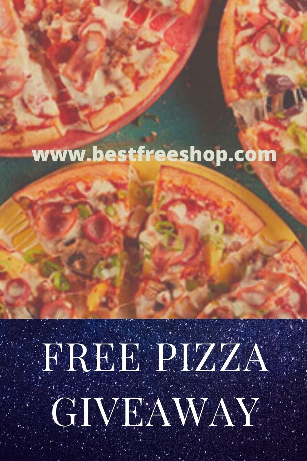 Pin On Free Pizza Giveaway