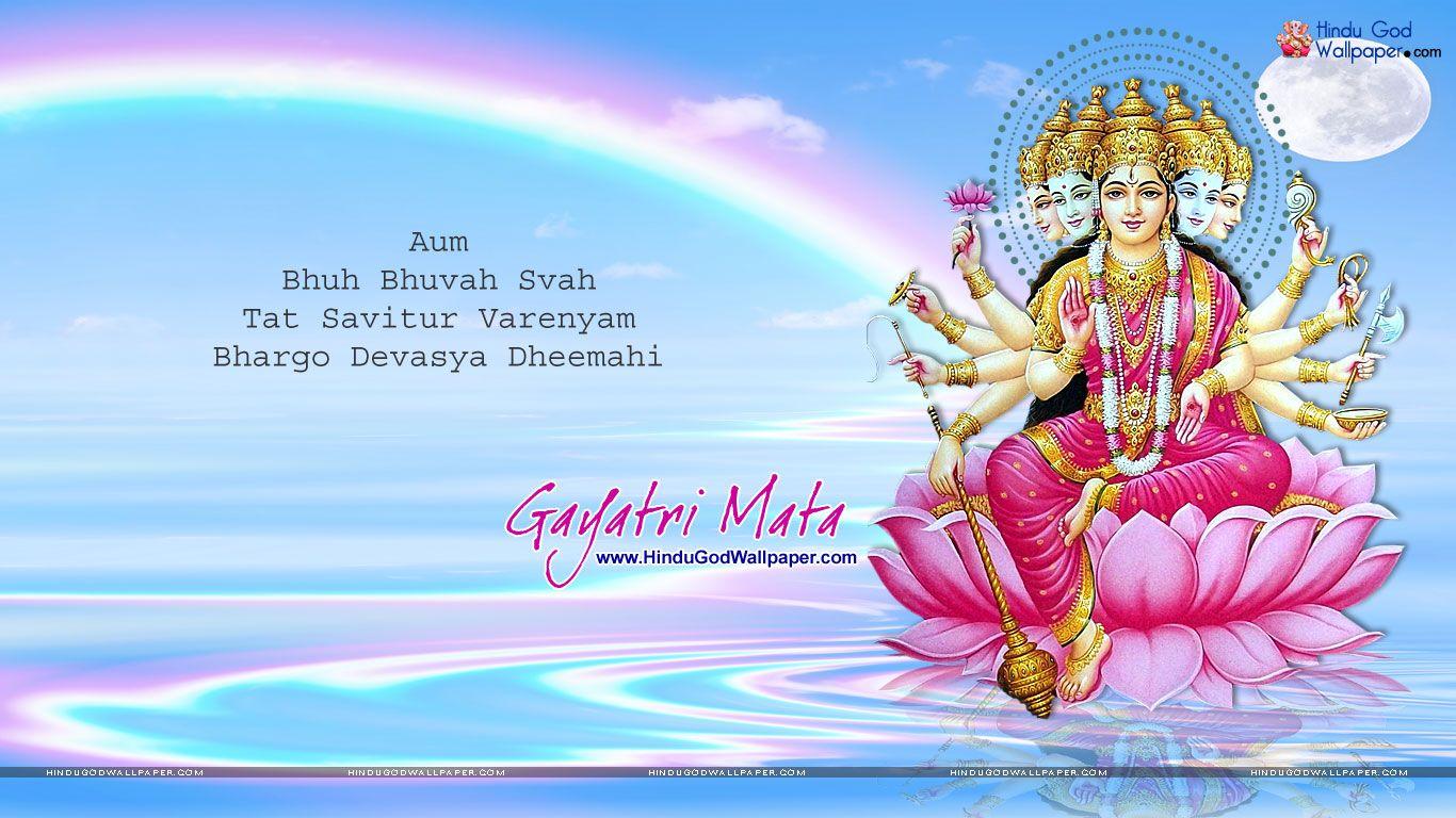 Gayatri Picture Wallpaper Free Download Ma Gayatri Wallpaper