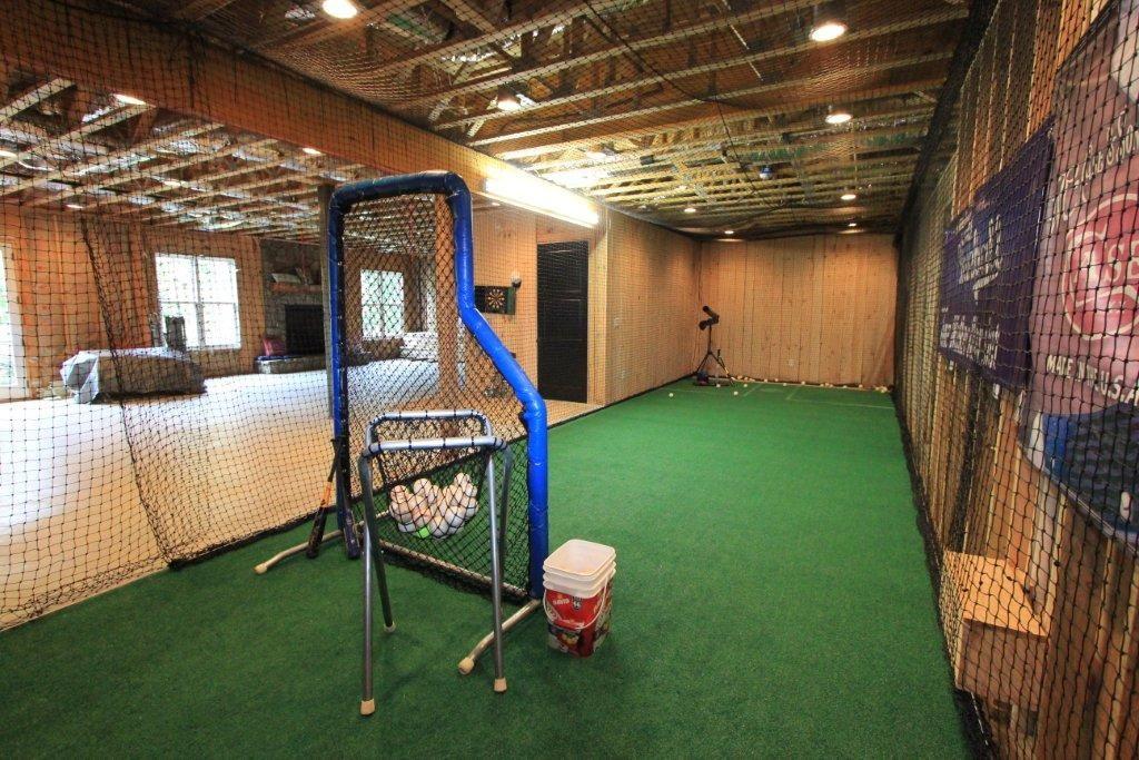 Batting Cage Blue Ridge, Indoor batting cage