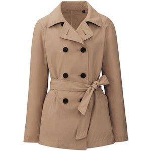 UNIQLO Women Short Trench Coat | travel and casual outfit ideas ...