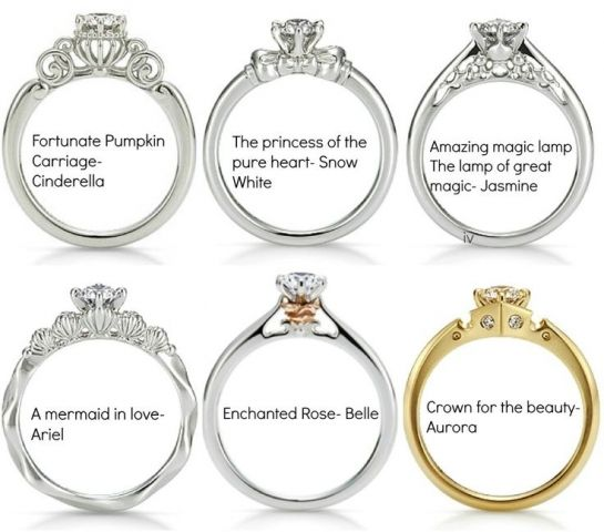 disney engagement rings - Disney Engagement Rings And Wedding Bands