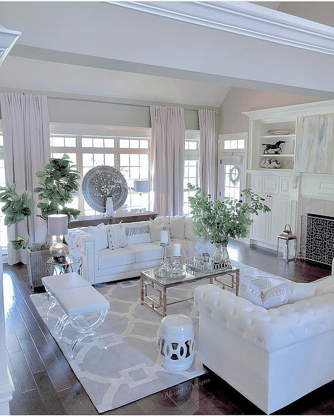 Inspire Me Home Decor Living Room: Loooove The Way @blountdesigns Styled Her Inspire Me! Home