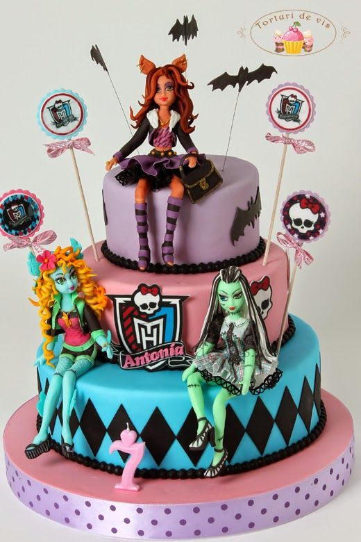 Admirable Monster High Pentru Antonia Monster High Cakes Monster High Funny Birthday Cards Online Fluifree Goldxyz