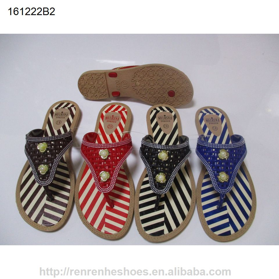 5eaedc8da4d38 2017 new design PCU flip flops for women Summer beach slippers ...
