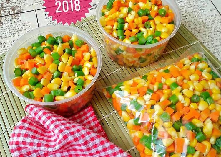 Resep Frozen Mix Vegetables Oleh Susan Mellyani Resep Makanan Resep Masakan