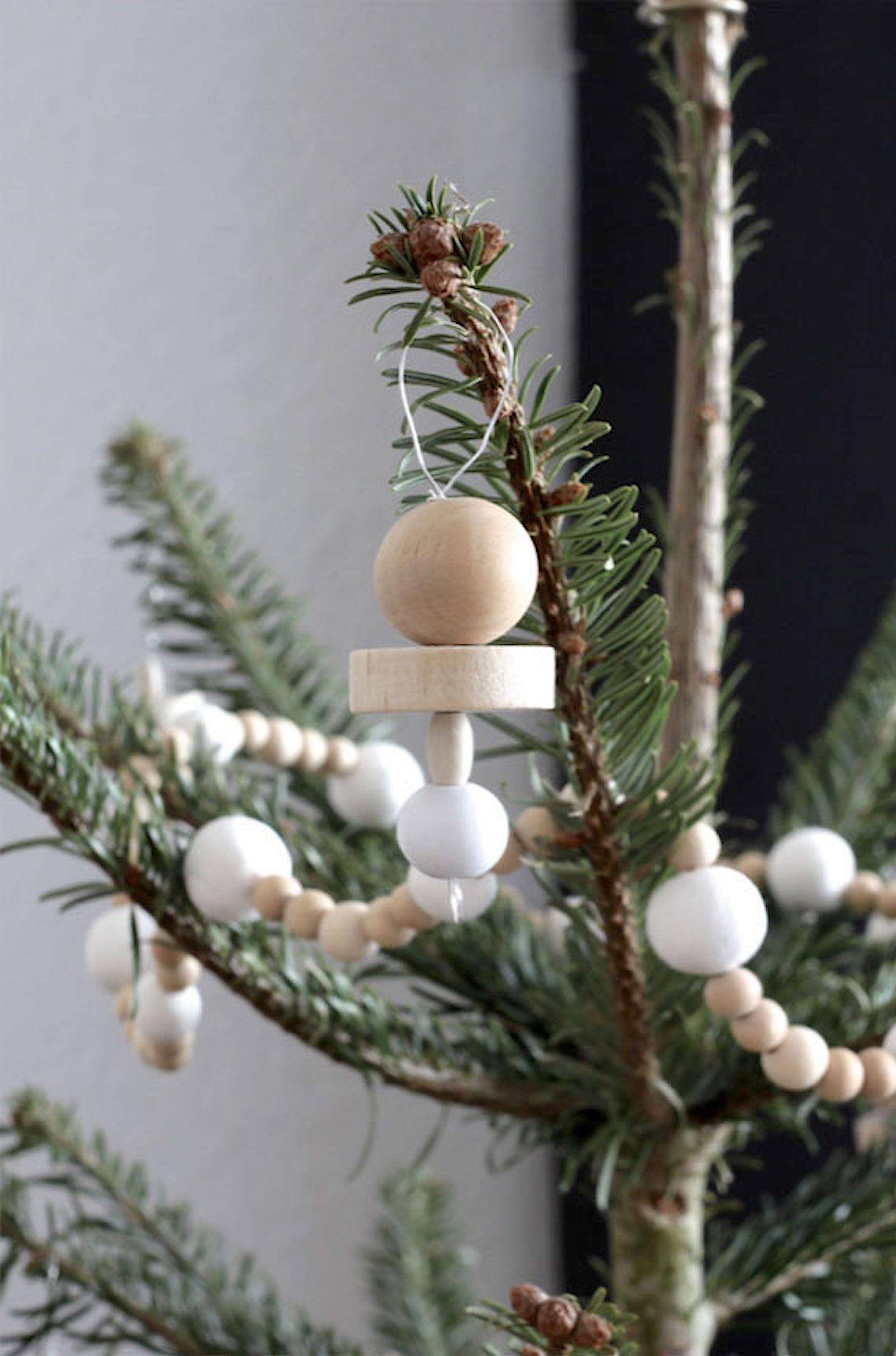 Naturlicher Christbaumschmuck Aus Holz Von Labelfreime Connox