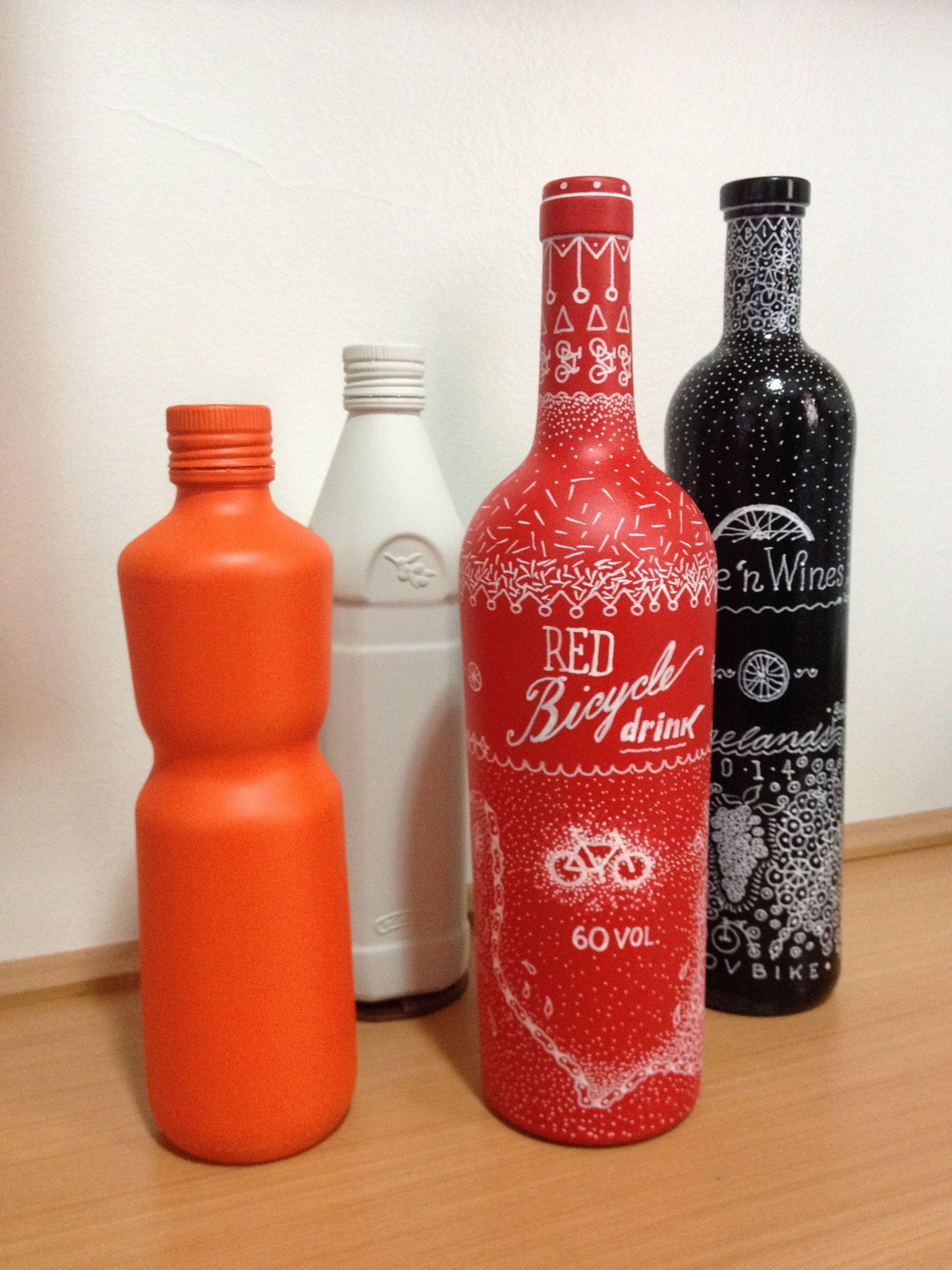 Garrafas Ilustradas Sauce Bottle Bottles Decoration Hot Sauce Bottles