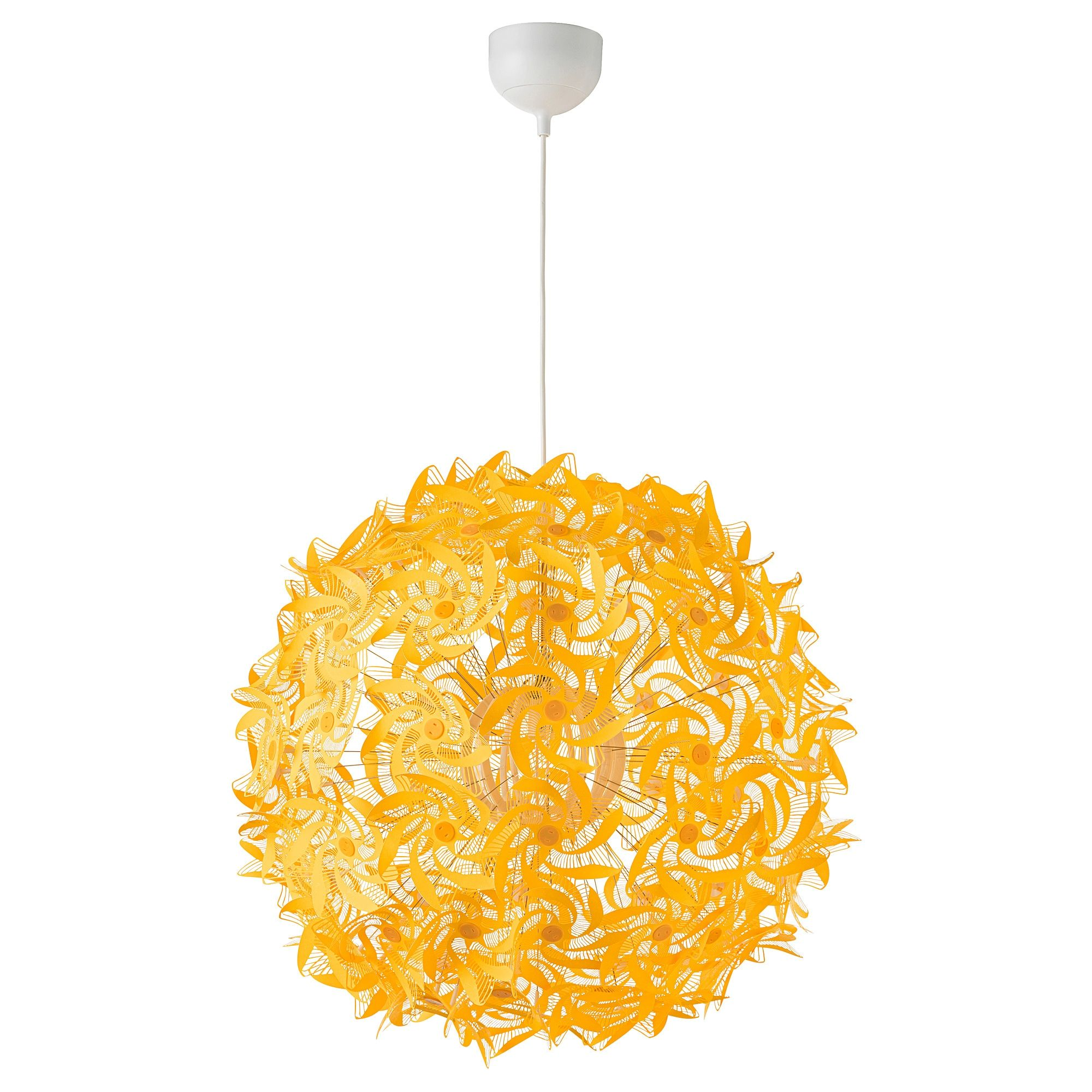 Grimsas Hanglamp Geel 55 Cm Gele Lampen Hanglamp Plafondlamp