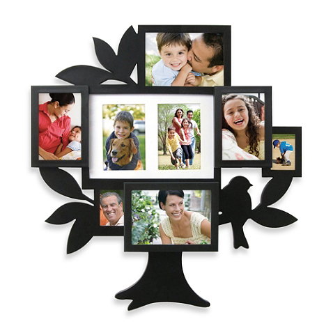 8 Picture Family Tree Collage Frame Family Tree Collage Tree Collage Family Tree Photo